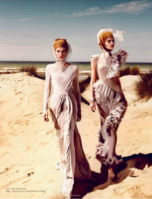 LEVER COUTURE featured by 125 Magazine Photography - Kristian Schuller Styling - Peggy Schuller
