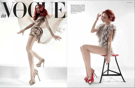 LEVER COUTURE featured by Vogue Germany
