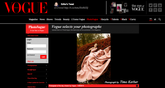 LEVER COUTURE Picture of the day on vogue.it