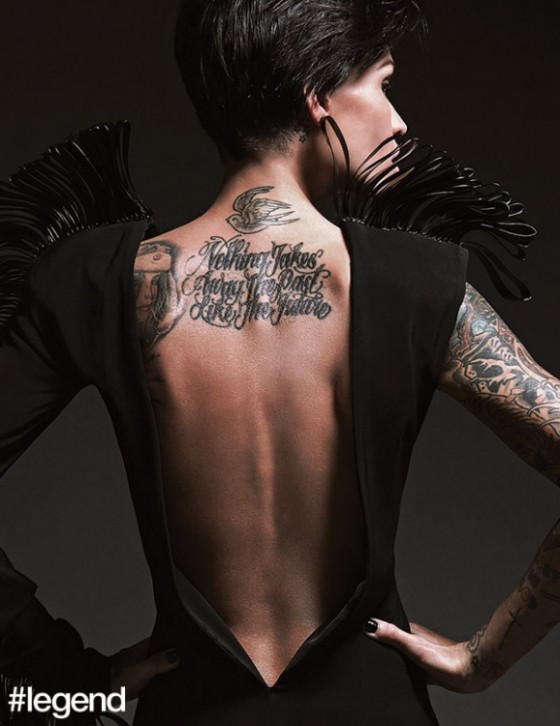 Ruby Rose in LeverCouture for Hashtaglegend