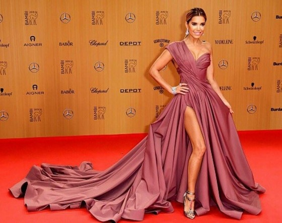 Sylvie Meis in LEVER COUTURE - Bambi 2015