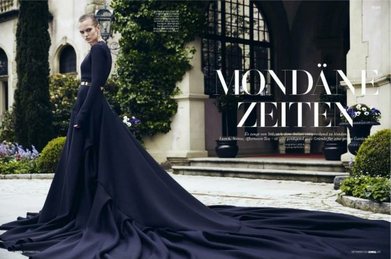 LEVER COUTURE featured by L'Officiel Schweiz/Suisse