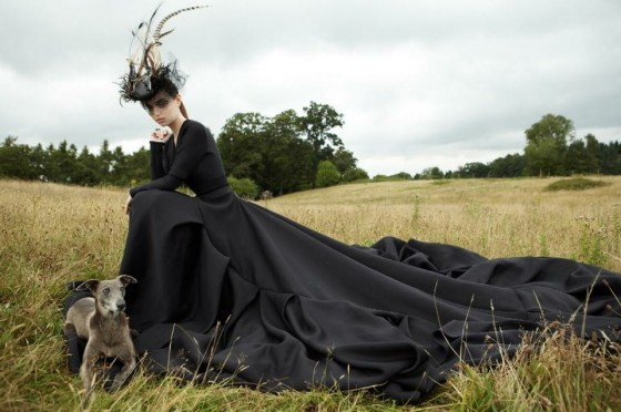 LEVER COUTURE dress forJane Taylor campaign